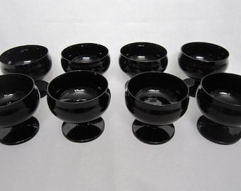 Black Glass Sherberts, S/8
