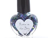 Puttin' On The Glitz Glitter Nail Polish 5ml Mini Bottle