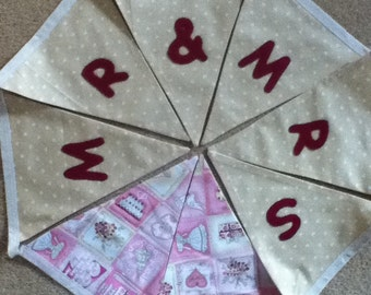 Wedding Bunting - Mr & Mrs