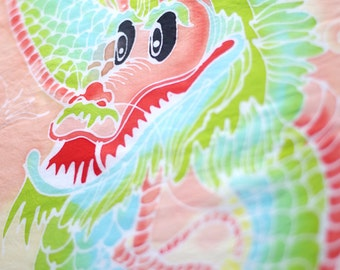 Popular items for dragon fabric on etsy for Dragon fabric kids