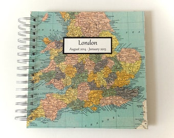 Travel Journal for England / London / United Kingdom / Great Britain
