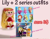 Save for Lily Promotion4: Changeable Clothes Crochet Doll and 14 styles Outfits Pattern ( PDF only )
