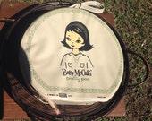 Betsy McCalls pretty PAC vintage beauty purse