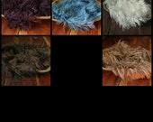 Faux Alpaca Fur Blanket Basket Stuffer