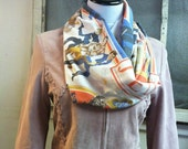 Upcycled Vintage Star Wars Return of the Jedi Infinity Scarf