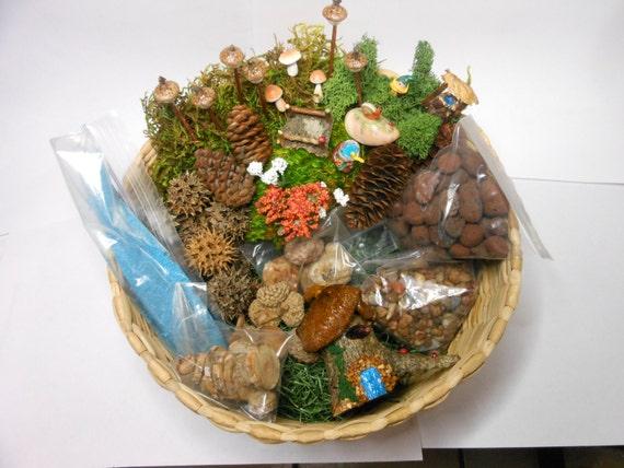 Fairy Garden Terrarium Kit Deluxe Miniature Terrarium Fantasy