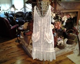 Vintage  Apron Camisole / Tunic
