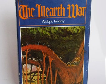 Vintage science fiction book, The Illearth War by Stephen Donaldson, an epic fantasy