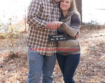 """Small  Hanging Chalkboard Sign Welcome Wedding Prop  7"""" Wide  Chalk (Includes )"""