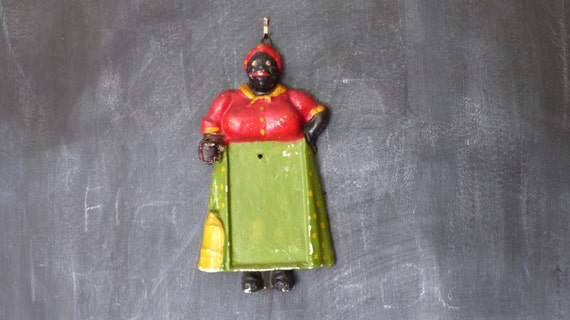 items similar to vintage jemima notepad holder black