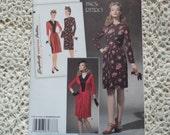 Retro 1940's Dress- Simplicity 1777--Size 6-14