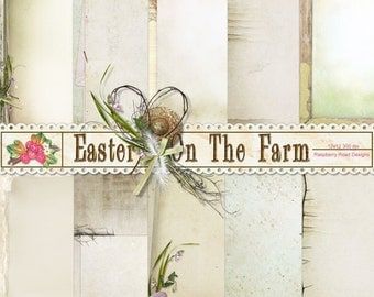 Easter On The Farm Paper Set