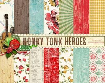 Honky Tonk Heroes Paper Set