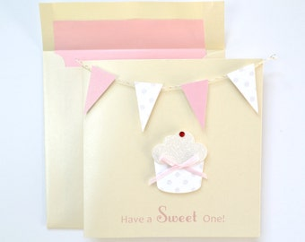 "Birthday Greeting Card: ""Sweet Treat"""
