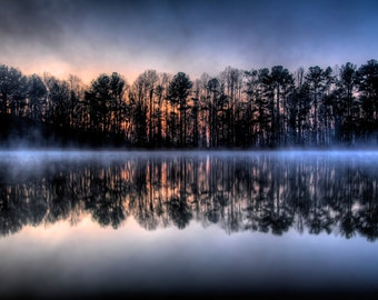 Shocco Springs, Early Morning Lake 4
