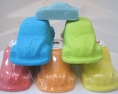 CLEARANCE - Bug Car Bath Bomb with Car Soap INSIDE