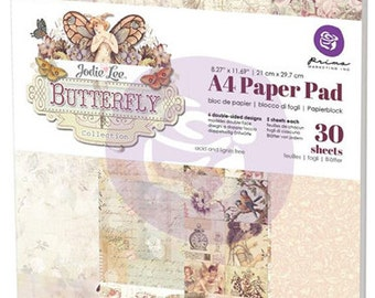 Prima BUTTERFLY A4 Paper Pad