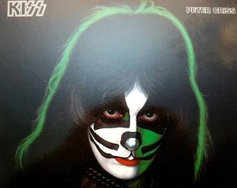 Kiss - Peter Criss solo LP (w/ credit insert) - 1978 - Casablanca NBLP 7122 - Vintage Vinyl LP Record Album