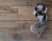 salvaged skateboard jersey cutout