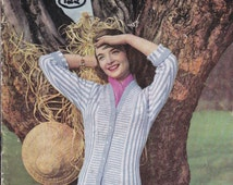 Stitchcraft Magazine 1950s Knitting Pattern, Crochet Pattern, Embroidery Pattern Book