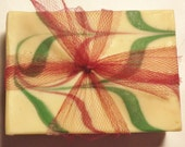 Goat Milk Soap, Christmas Soap, Christmas Splendor, Soap sale