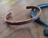 Hand Forged Copper Bracelet   - any size - Men or Women