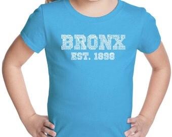Girl's T-shirt - Popular Neighborhoods in Bronx, NY