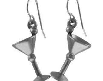 Martini Glass Earrings - LT437