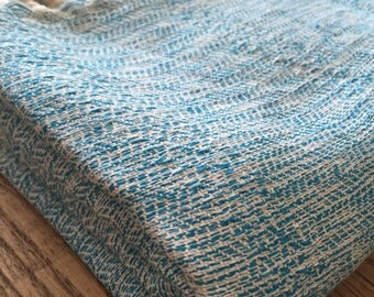 Turkish Towel Bamboo Peshtemal Towel Sprinkled Peshtemal Turquoise color Pure Soft