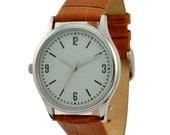Left hand Watch Light grayish orange