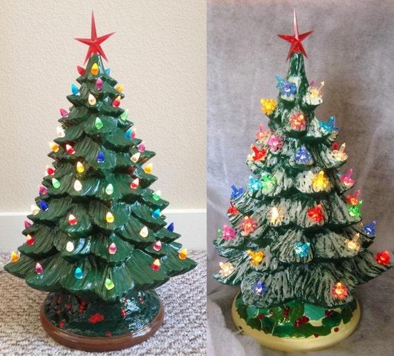 Ceramic christmas tree kit hobby lobby beatiful tree for Ceramic based paint