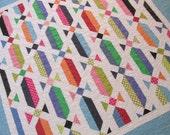 Lap Quilt Polka Dot Colorful Quilt