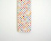 Geometric Lap Quilt, Postage Stamp Quilt, Feedsack Quilt, Wedding Quilt, Patchwork Quilt, Throw Quilt
