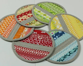 Zakka style potholders/SET OF 4