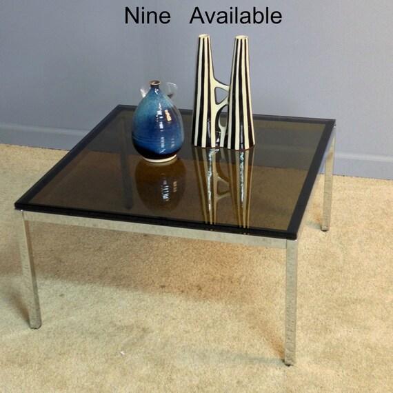 Chrome Coffee Table Items: Steelcase Chrome Glass Coffee Table By EamesInteriorDesigns