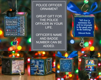 Police Officer Ornament
