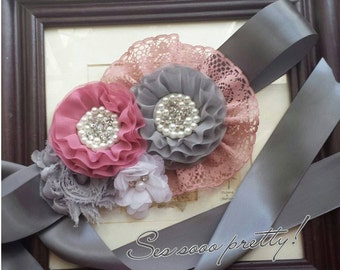 Flower sash SAVE10 for 10% off