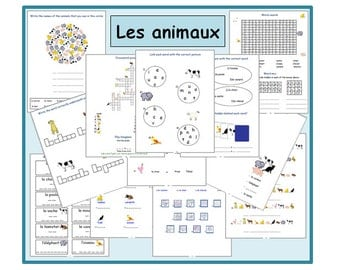 French Worksheets Kids Learning Sheets The colours Kids