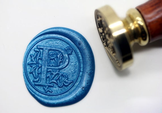 letter wax seal s1158 alphabet letter p wax seal stamp sealing 23296