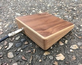Oak/Walnut Shoe Box - A Stompbox by Index Drums