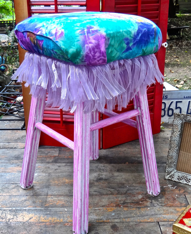 Stool Boho Chic Decor Cha Cha Stool Bohemian Furniture