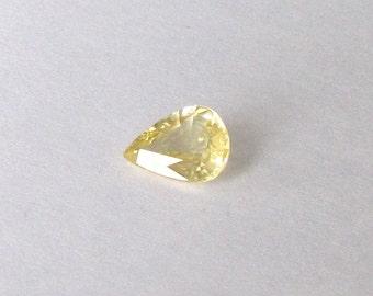 Natural Yellow Sapphire, Pear Cut, 1.15 carat