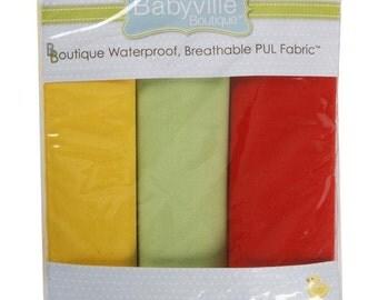 Babyville Boutique PUL diaper cut package - neutral solids