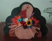 Turkey-- Thanksgiving-- Fall-- Decoration--Centerpiece--3-D--Centerpiece