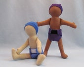 "11"" Eco-friendly anatomically correct hemp soft cloth boy baby doll"