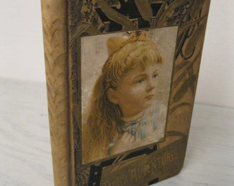 Antique Children's Book - Jack's Adventures - Illustrated - 1884 - Vey Rare - Young Adult