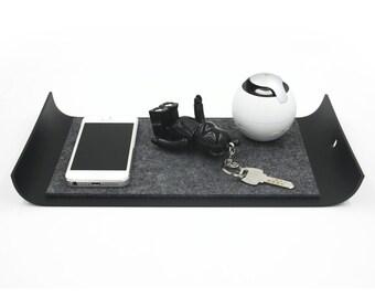 iPad Mini Tray, iPhone Tray,Key Tray, Organizer Desk Tray, Modern And Minimalist