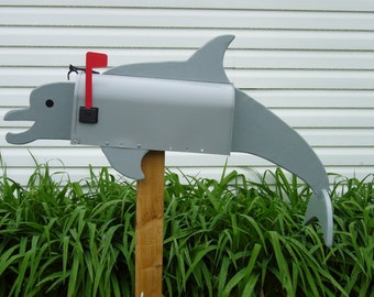 Fish mailboxes -  Dolphin mailbox