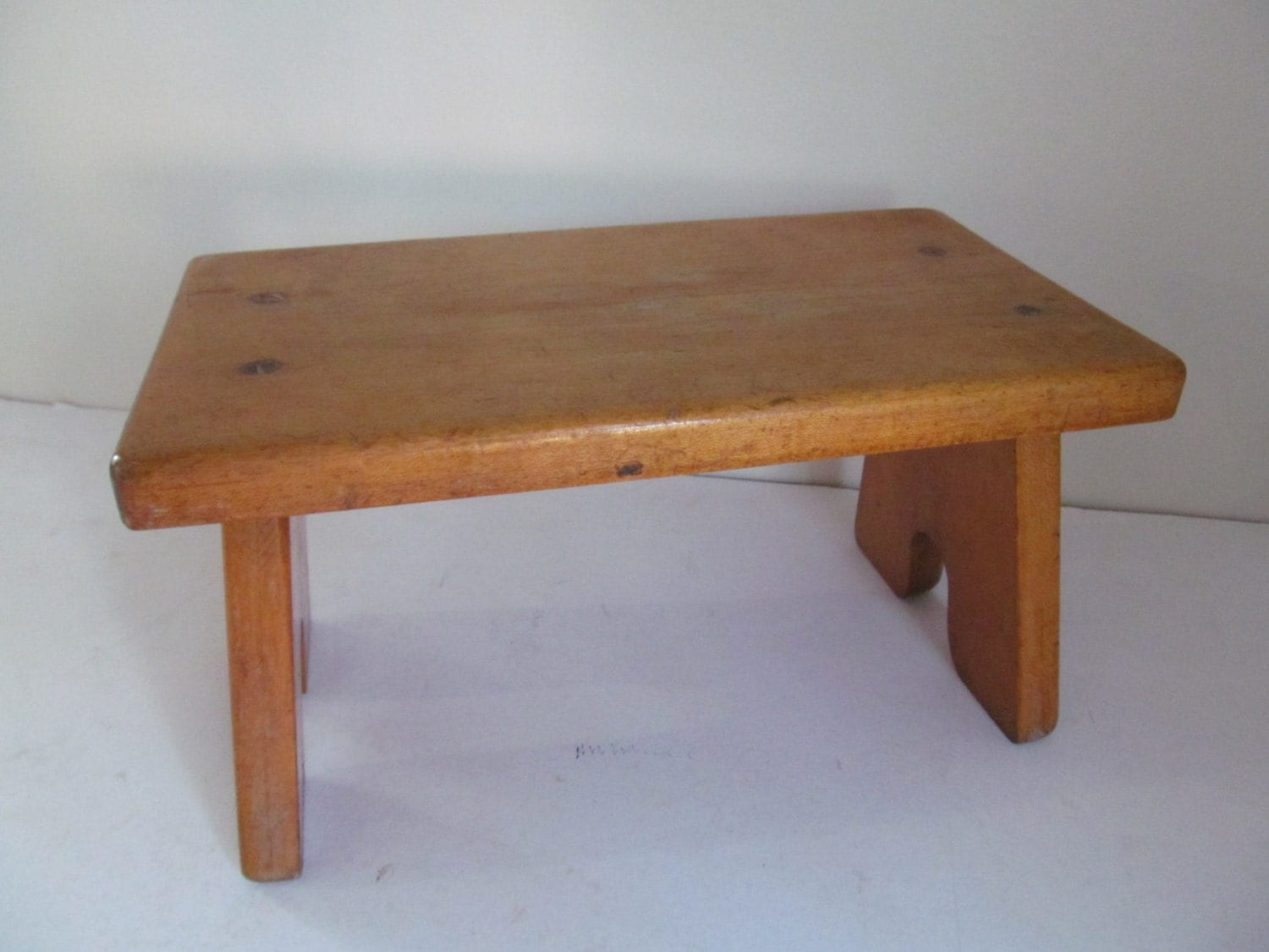 Vintage Wooden Step Stool by Mumscottage on Etsy