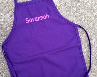 Personalized Toddler/Child Apron